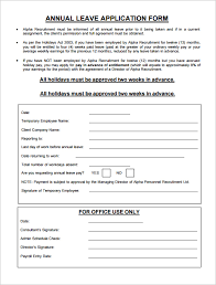 Exle Letter Request Annual Leave sle request forms supplier corrective request form