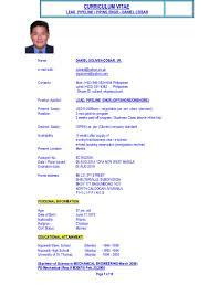 cv mechanical engr 2000