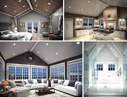 recessed lighting angled ceiling led recessed lights vaulted ceiling fooru me