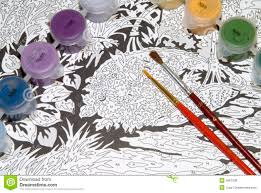 painting by numbers royalty free stock photos image 4687338