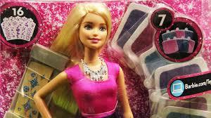 barbie glitter hair design doll mattel clg18 md toys