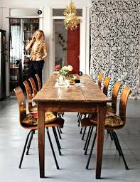long narrow kitchen table narrow dining table