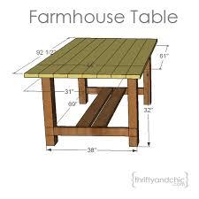 diy farm table plans diy outdoor farmhouse table farmhouse table plans farmhouse table
