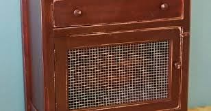 decorative wire mesh for cabinets custom vintage cabinet with decorative mesh door the english