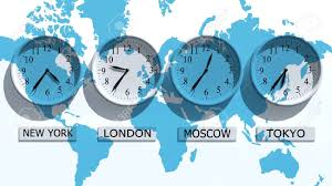 Time Zone Map World Clock by World Time Clock Stock Photos Royalty Free World Time Clock