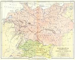 germania map germany germania vindelicia rhaetia noricum 1880 map