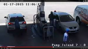 lexus kempton park robbers casually strike at petrol station rekord east