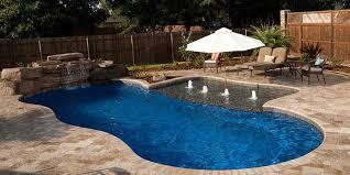 Backyard Leisure Pools by Pool Shapes U0026 Sizes Brummett Pools Inc