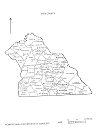 Pennsylvania County Map by Pa State Archives Pennsylvania County Municipalities Map