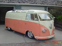 peach car my vw bus finds retro rides