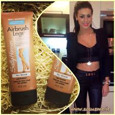review the new sally hansen airbrush legs lotion so sue me