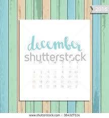 Simplemodern Vector Simple Modern Calendar April 2016 Stock Vector 364327523