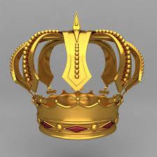 model crown king ornaments