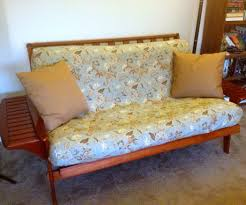 No Sew Slipcover For Sofa by Futon Easy Off Slipcover 6 Steps With Pictures