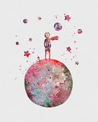little prince watercolor art print watercolor art prince and