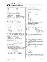 holt geometry worksheet answers worksheets