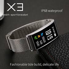 life bracelet app images Fuster ip68 waterproof swimming x3 smart bracelet ips color touch jpg