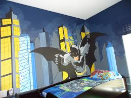 bedroom lovely batman room ideas for kids bedroom decoration wall mural decor for amazing batman room ideas for kids bedroom decoration ideas