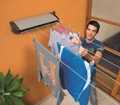 extenda 4 indoor outdoor retractable clothesline clotheslines
