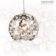 Beautiful Lighting Fixtures Beautiful Silver Flower Pendant Lights Fixtures Aluminum