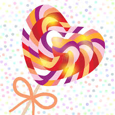 s day lollipops s day heart shaped candy lollipops with bow colorful