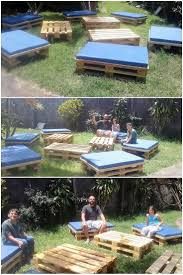 How To Make Patio Furniture Out Of Wood Pallets by 188 Best Pallet Outdoor Furniture Images On Pinterest Pallet