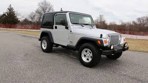 2004 jeep wrangler tj sport for sale one owner auto hard top runs
