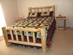 Cedar Log Bedroom Furniture by Log Artistry Log Beds Cedar Log Beds Rustic Log Beds Log
