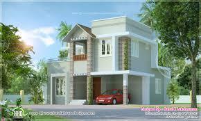 small cute villa square feet home kerala plans architecture