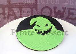 Halloween Fondant Cake by Edible Nightmare Before Christmas Cake Topper Oogie Boogie