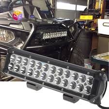 led tractor light bar 12 inch led work light bar fit meyer tractor yamaha rhino side by