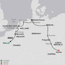 Europe Map And Capitals by European Capitals Vacation Cosmos Affordable Tours