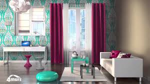 idee deco papier peint chambre adulte collection 4murs papier peint youtube
