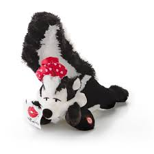 lovesick pepé interactive stuffed animal hallmark