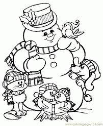 349 kid u0027s christmas coloring images drawings