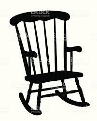 Grandma In Rocking Chair Clipart Rocking Chair Clipart Clip Colonial Early American European For