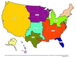 american reliability corporation nerc region