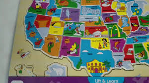 us map puzzle lift learn usa map puzzle the learning journey review