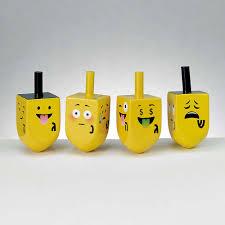where to buy dreidels emoji set of expressive dreidels