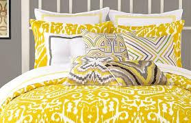 bedroom beautiful mustard yellow ikat bedding modern bedding with