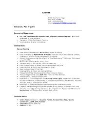 Manual Testing 2 Years Experience Resume Himanshu Manual Soa Testing Resume 6 6year Exp