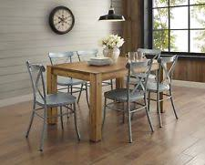 rustic dining table ebay