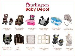 burlington baby department burlington has you covered with their baby depot information
