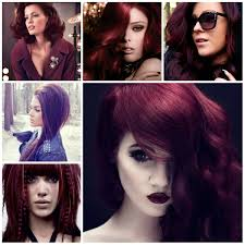 burgundy hair color for short hairstyles burgundy hair color ideas