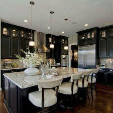 Espresso Cabinets Kitchen Espresso And White Kitchen Cabinets Free Home Decor