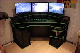 Custom Gaming Desks Lovely Pc Gaming Desk Gamer Puter Desk Literarywondrous S