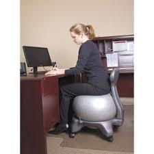 Modern Ball Chair Desks Exercise Ball Chair Secrets The Ergo Chair Regarding