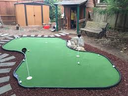 Putting Green Backyard by Backyard Putting Green Images With Amusing Synthetic Golf Green