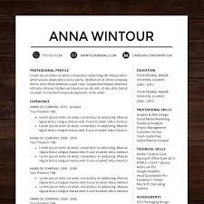 Free Professional Resume Template by Free Professional Resume Template Downloads Professional Resume