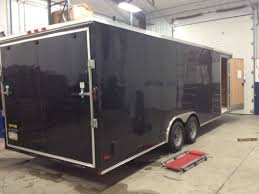 enclosed trailer exterior lights about cheap georgia trailers cargo trailers for sale cargo